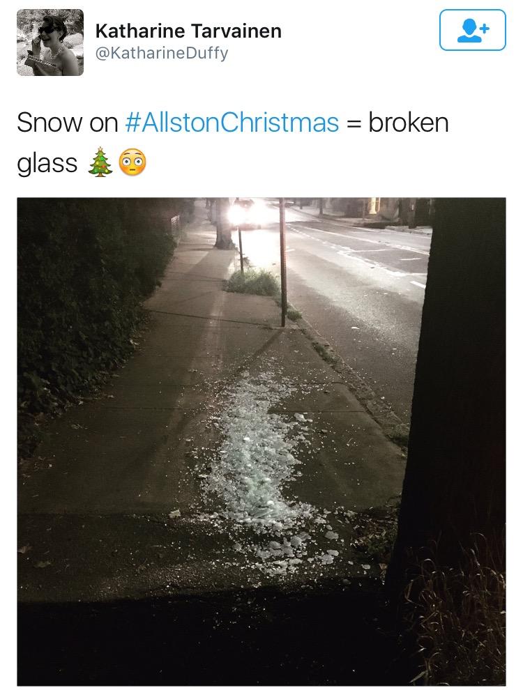 allston christmas snow