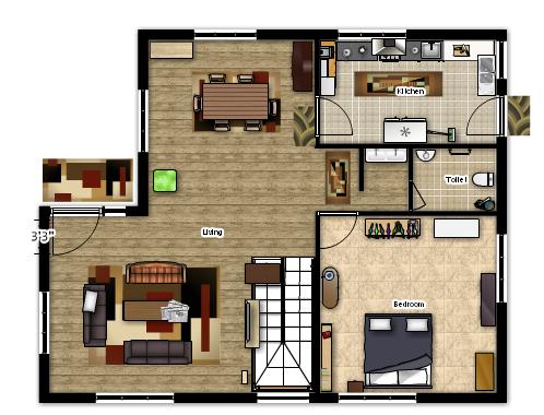 Floor planner for Planner casa 3d