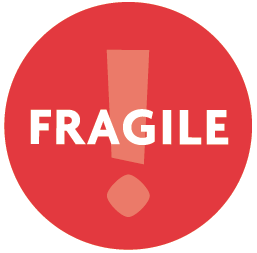 image regarding Printable Fragile Label named No cost Printable Shifting Box Labels Olympia Transferring Storage